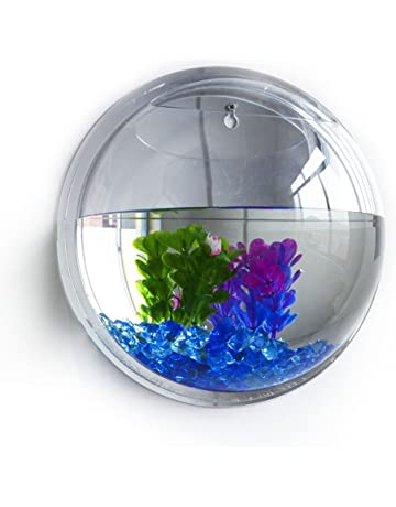 Pecera de Pared, Domybest Pecera de Acuario, Wall-Mounted Creative Fish Tank,