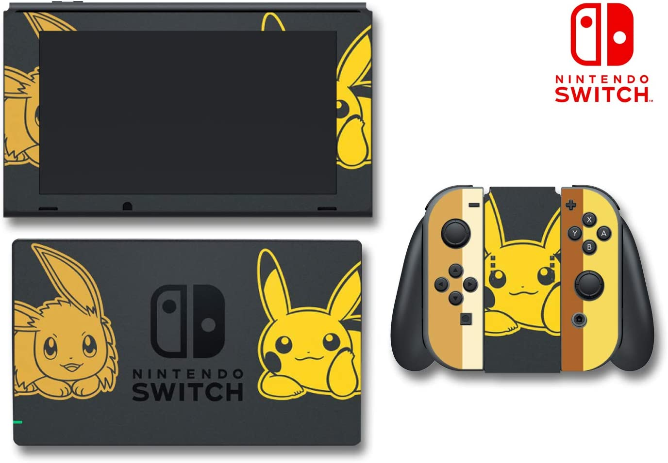 nintendo switch lets go pikachu edition