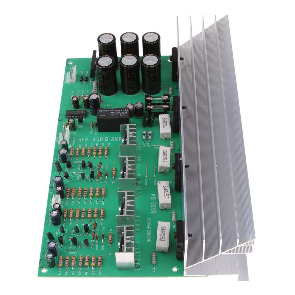 Módulo de Placa de Amplificador de Alta Potencia Controlador de Audio Subwoofer Bajo 2 Canales de 150W + 150W - A