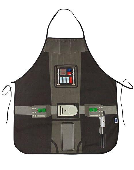 Amazon.com: Star Wars Darth Vader delantal en un tubo: Home ...