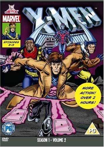 X-Men  - Season One Part Two (Marvel Originals Series - 90s) [DVD] [1992] (X Men The Animated Series Jean Grey)