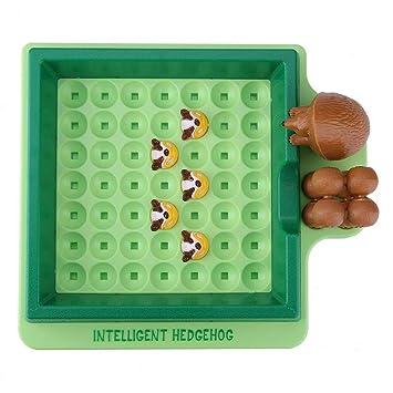Divertido erizo de juguete de escape Juego de mesa educativo ...