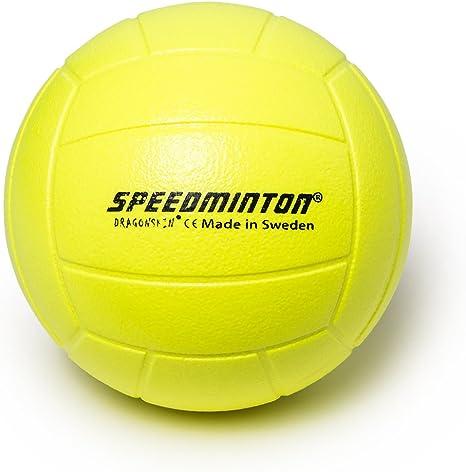 Speedminton Voleibol – Pelota de gomaespuma, Amarillo neón, 20 cm ...
