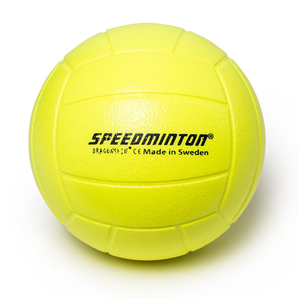 Speedminton Voleibol - Pelota de gomaespuma, Amarillo neón, 20 cm ...