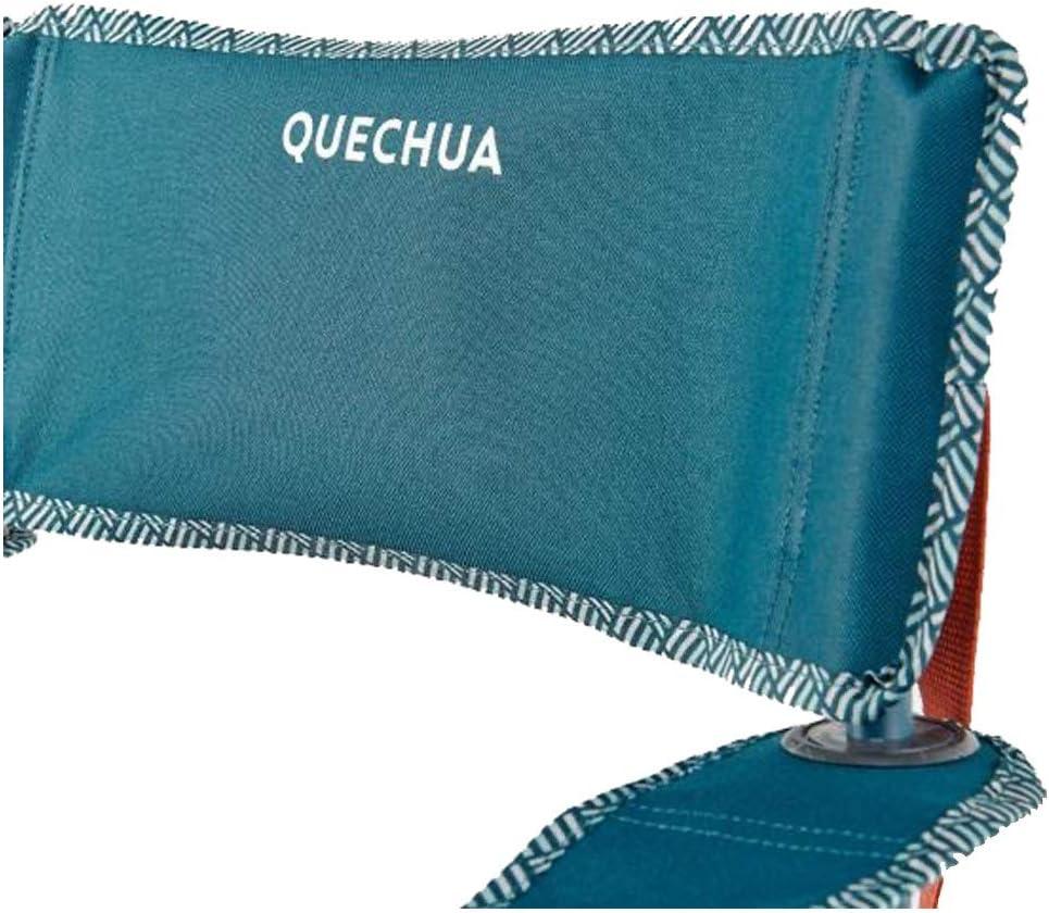 Quechua - Silla de camping plegable, color azul, 110 kg ...