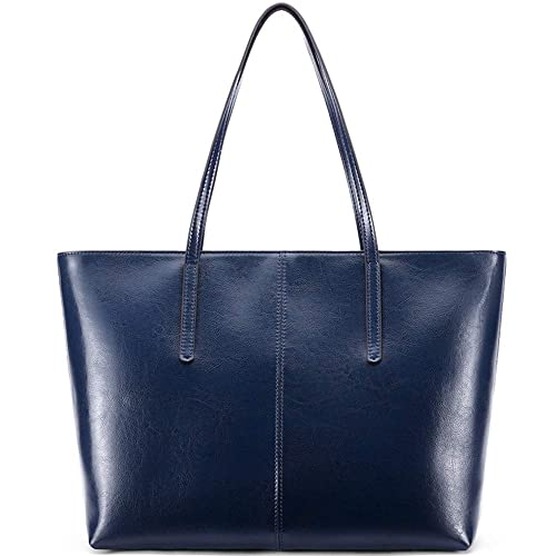 7a319ce924d26 Ritzo by M ~ Ledertasche Damen groß Tasche Damen Shopper aus echtem Vintage  Leder in Schwarz
