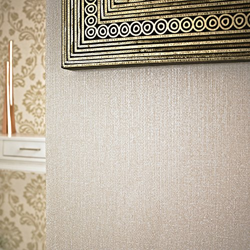 Graham & Brown 20-723 Rhea Wallpaper, Beige