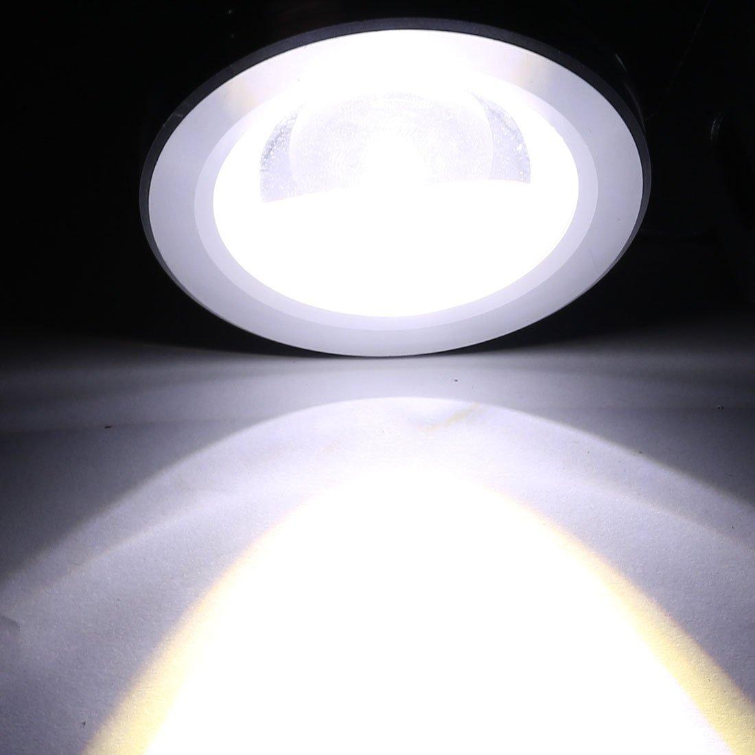 eDealMax DC 12V 10W LED Luz subacuática del acuario piscina de la fuente de la lámpara a prueba de agua blanca - - Amazon.com