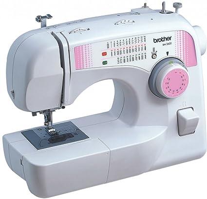 Brother BM-3600 Eléctrico - Máquina de coser (Blanco, Costura, 1 paso