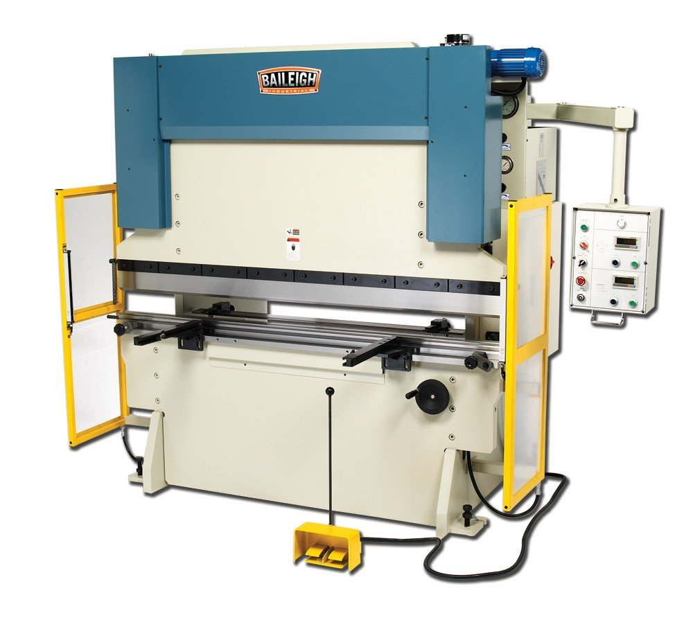 Baileigh BP-9078NC Hydraulic Press Brake, 3-Phase 220V, 10hp Motor, 90 Ton Pressure, 78'' Bending Length by Baileigh (Image #1)