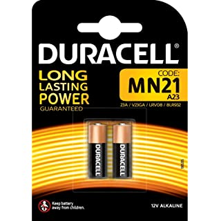 Duracell MN21 Alkaline Batteries (Pack of 2) at amazon