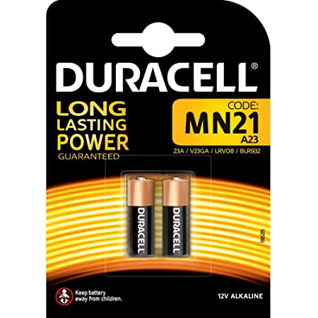 Duracell MN21 Alkaline Batteries (Pack of 2) General Purpose Batteries & Battery Chargers at amazon