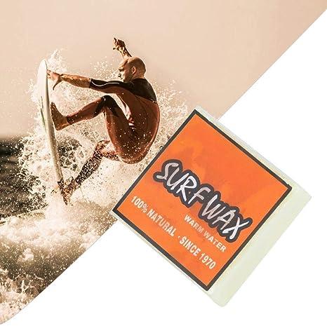 Keenso Cire de Planche /à roulettes Cire de Surf antid/érapante de Haute qualit/é