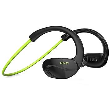 AUKEY Auriculares inalámbricos estéreo, deportivos, Bluetooth 4.1: Amazon.es: Electrónica