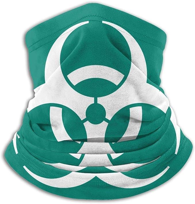 Biohazard Funny Logo Face Athletic Vest Tank Top