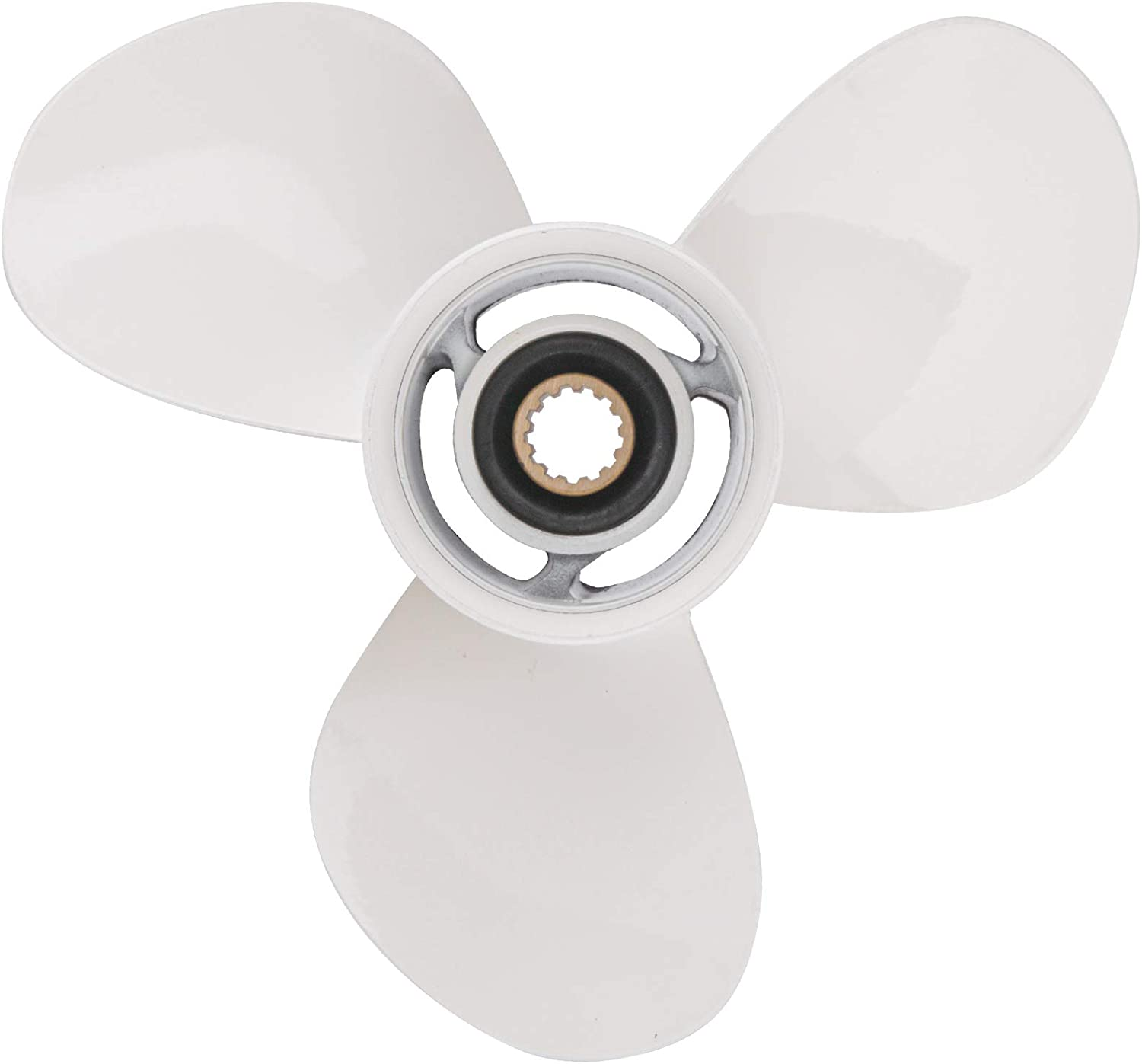 Bob's Marine 11 1/8X13-G OEM Outboard Propeller for Yamaha 40HP 50HP 55HP,OEM Parts No.69W-45945-00-00,11.125x13,13 Spline Tooth