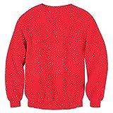 RAISEVERN Unisex Ugly Christmas Sweatshirt Funny