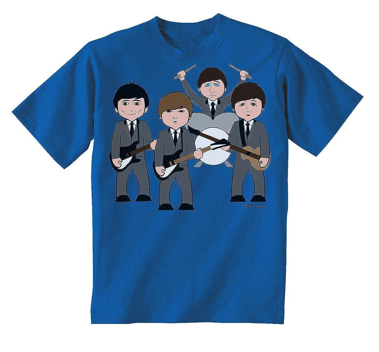 VIPwees Fabolous Foursome Childrens unisex kids music T-Shirt boy//girl carica...