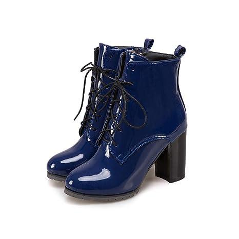 Lianaii Stivali da donna Le Scarpe da Donna Autunno E Inverno con  Stivaletti Martin Hanno Dipinto c84bcd43ecf
