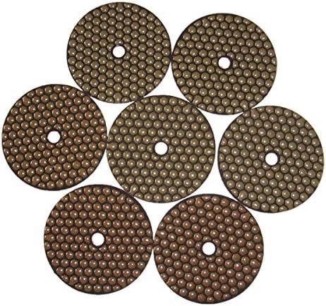 50, 100, 200, 400, 800, 1500, 3000 Grit Stone Polishing Pads 400# 7