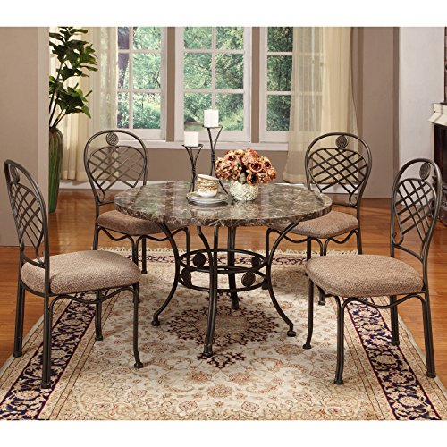 Metro Shop Hera Brown 5-piece Modern Dining Set