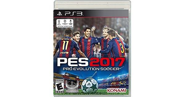 Amazon.com: Pro Evolution Soccer 2017 - PlayStation 3 ...