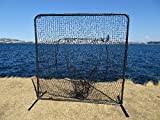 7'x7' Baseball Softball Catch Net Protective Screen Kit w/ Net & Frame Sock Net