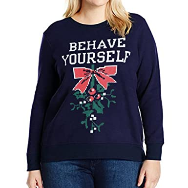 Christmas Tops Plus Size.Minisoya Women S Plus Size Christmas Shirt Letters Printed