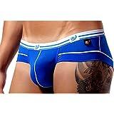 Uomo Mutande Slip Intimo Aderente Blu Sexy HOT Taglia L