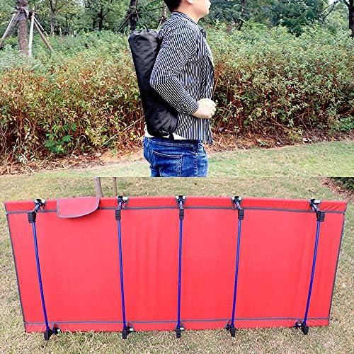 Xiao Long Lit pliant, pliant portable en alliage d'aluminium extérieur Lit ultra léger Lit simple Bureau Siesta Lit pliant Camp Bed lit de camp