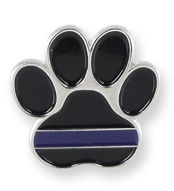K9 Pawprint Police Lapel Pin (5 Pins)