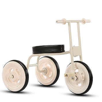 Bicicletas para niños Guo Shop- Niño Simple Triciclo Bicicleta de la Vendimia Bicicleta de bebé