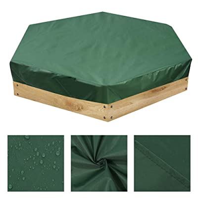 Hexagonal Sandpit Covers with Drawstring, Oxford Cloth Waterproof Dust Protection Sandbox Cover for Home Garden Outdoor Pool, To Avoid The Sand and Toys Contamination: Home Improvement