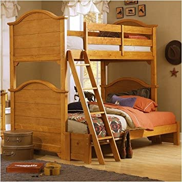 Amazon Com Vaughan Bassett Bb20 Series Cottage Bunk Bed In Pine Baby