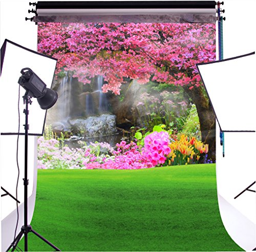 DULUDA 6X9FT(1.8X2.7M) Spring Scenery Seamless Pictorial cloth Customized photography Backdrop Background studio prop WT12B