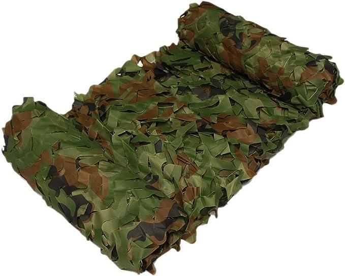 hyfan Red Camuflaje Bosque para tienda de campaña Parasol Caza Militar, bosco, 2 x 3 M: Amazon.es: Deportes y aire libre