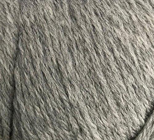 100% Alpaca Yarn 465 yd Wool Crochet Knitting Worsted Weight Skein Hand ()