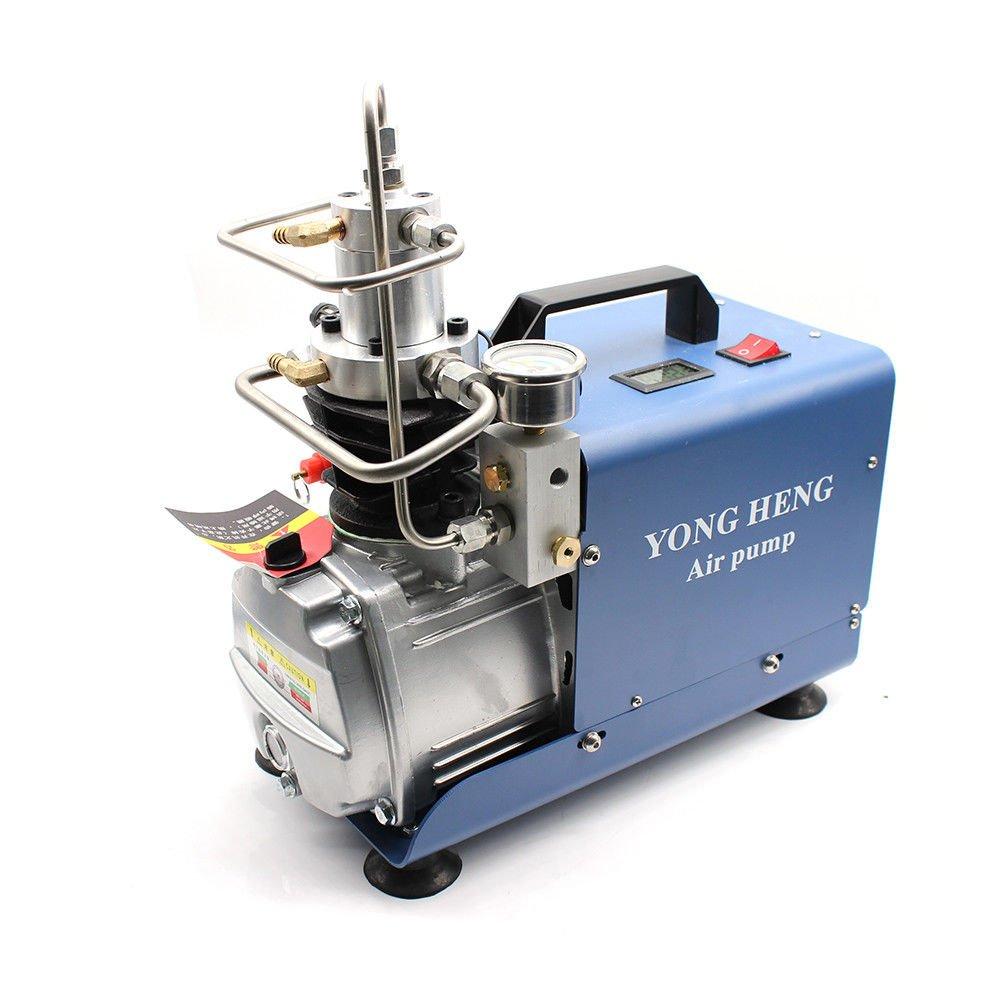 Bomba neumática alta presión 30 MPa 4500psi Bomba de aire comprimido alta presión para inflar Bomba PCP inflador neumático escopeta de aire comprimido y ...