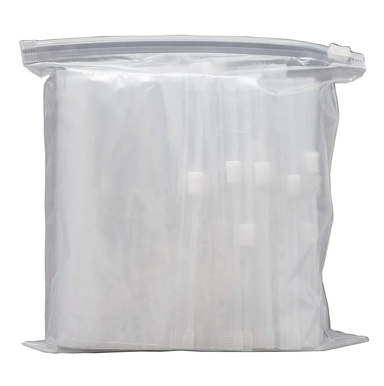 Rolli Sacchetto Trasparente con Chiusura Zip 150x200 Sacchetti Richiudibili in Plastica Set 20 pz