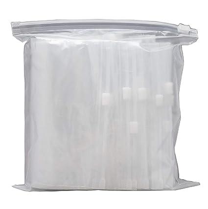 Rolli Bolsas Reutilizables Plástico con Cierre Zip 200x300 Bolsa Transparente 25 uds