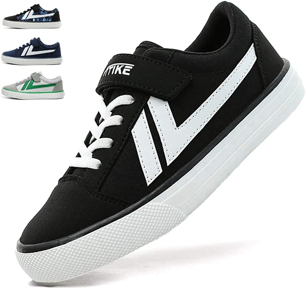 Kids Sneakers Suede Classic Skate Shoes Breathable Running Walking Shoes Lightweight School Athletic Casual Sports Shoes