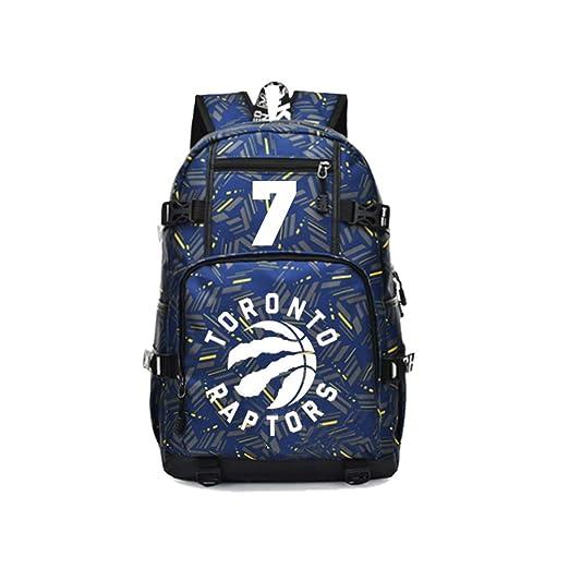 WNUVB Mochila para niños, Mochila Impresa de los Toronto Raptors ...