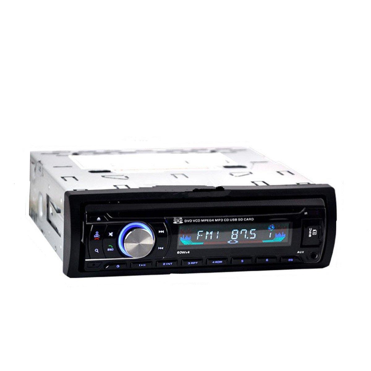 Fochutech IN DASH 1 DIN Car CD DVD SD MP3 Player Receiver Radio Bluetooth Stereo Head Unit Remote Control