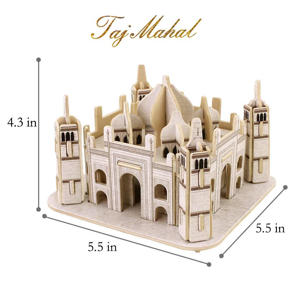 ROBUD Notre Dame de Paris Building Model Kits 3D Wooden Puzzle Craft Gift for Kids