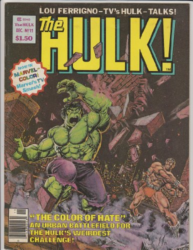 The Hulk #12 Marvel Magazine Comic