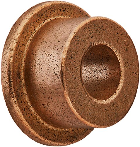 Bunting Bearings FFB612-4 Flanged Bearings, Powdered Metal, SAE 841, 3/8