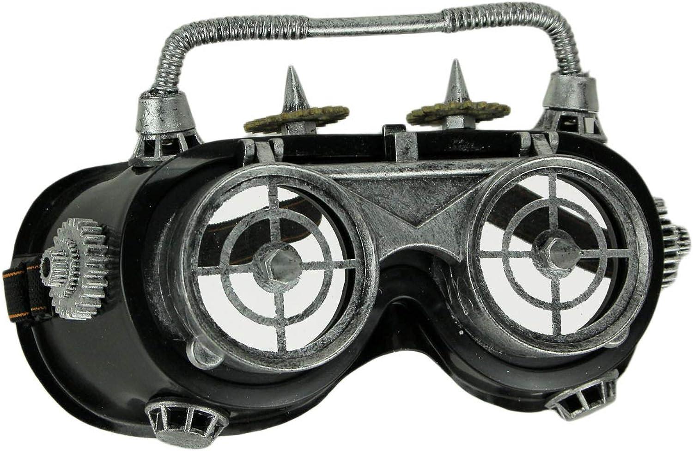 Things2Die4 Gafas de soldar Steampunk, Accesorio para Disfraz de ...