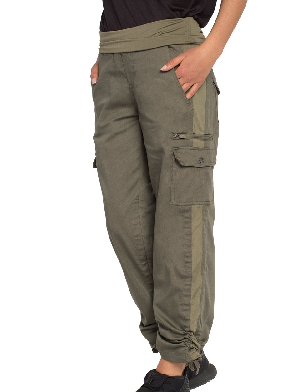 SCOTTeVEST Margaux Cargaux Travel Pants -11 Pockets- Travel Cargo Pants OLV S