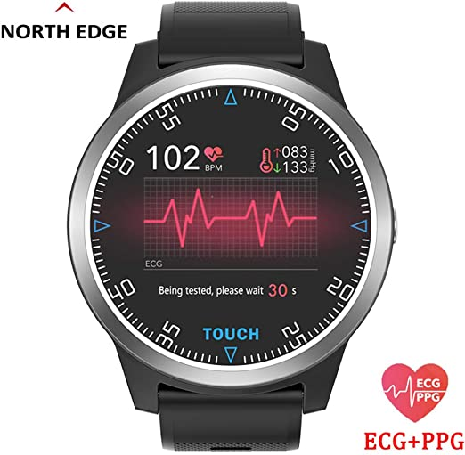 RENYAYA North Edge Reloj Digital Inteligente Sport Fitness ...