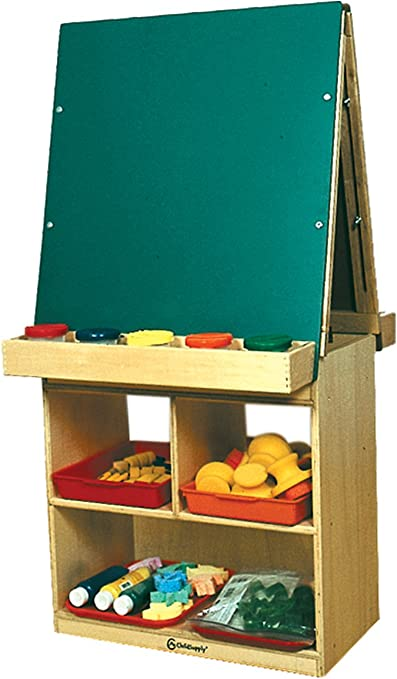 A+Childsupply A Crafts Child Supply 2 Station Easel Arts